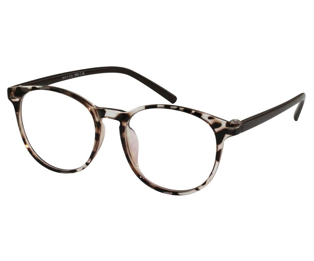 EBE Reading Glasses Bifocal Men Women Tortoise Round Frame ...