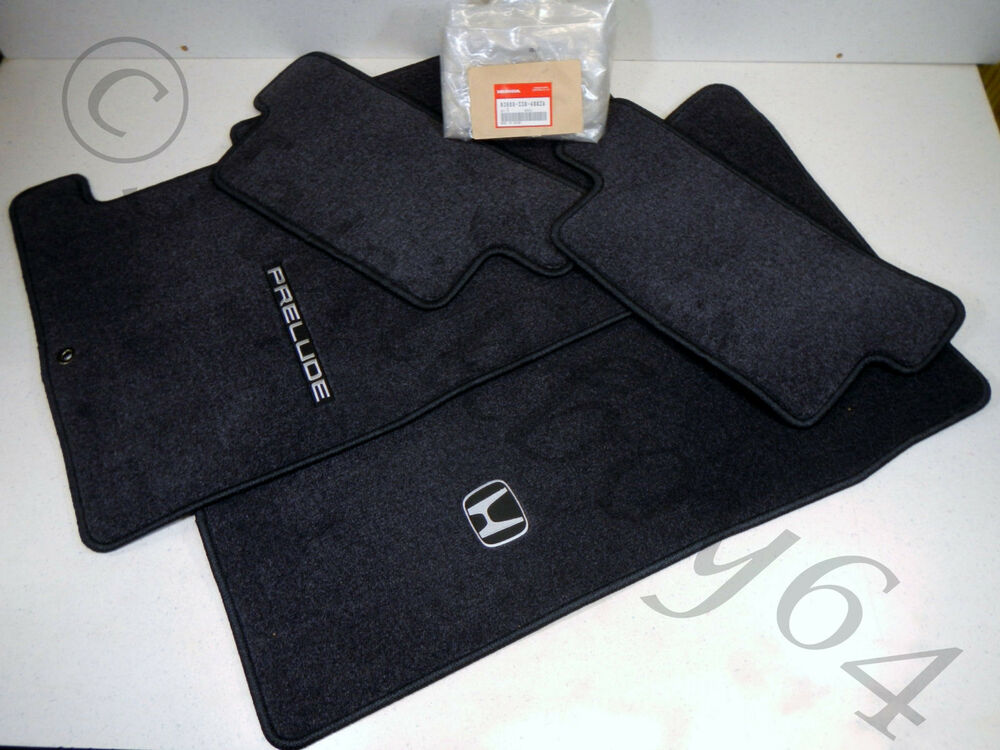 01 Honda Prelude New Genuine Oem Floor Mat Rug Set Ebay
