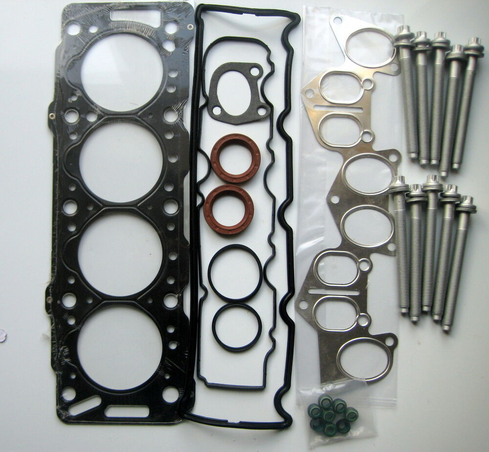 xsara c15 berlingo 206 306 expert partner 1 9d head gasket set bolts dw8 ebay. Black Bedroom Furniture Sets. Home Design Ideas