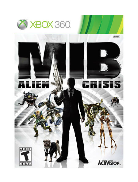 A Rated Games For Xbox 360 : New sealed men in black mib alien crisis xbox video