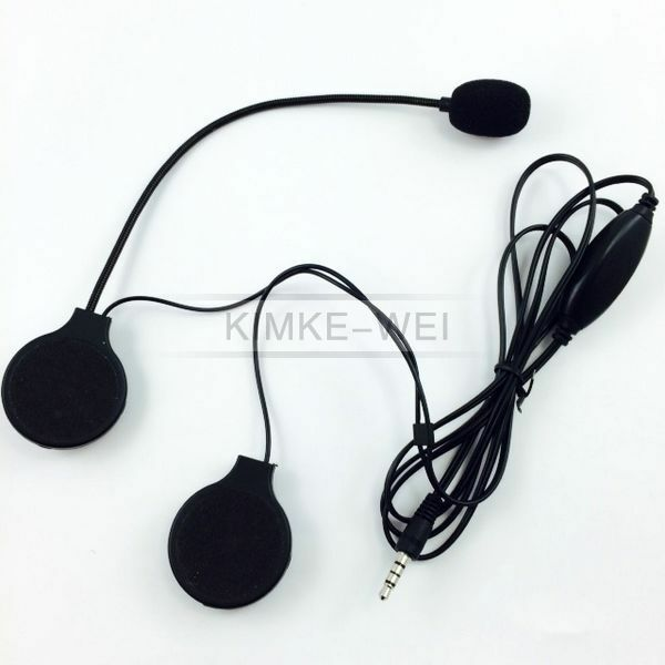 headphones with microphone for iphone motorcycle helmet stereo headset speakers with mic 5459