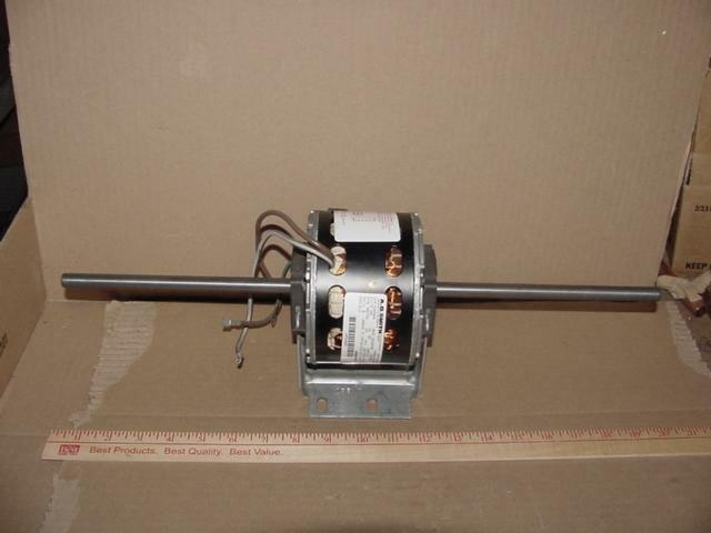 Ao smith de3d479n 1 20 hp double shaft electric motor for 1 20 hp electric motor