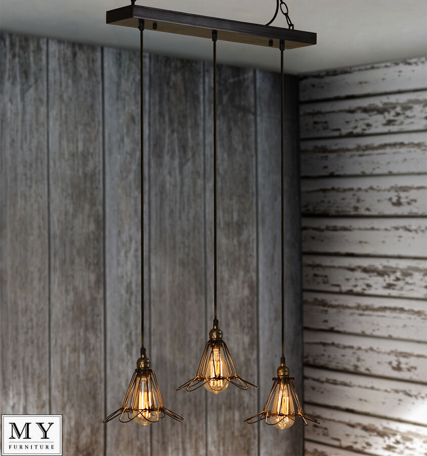 sebastien vintage retro industrial pendant light edison. Black Bedroom Furniture Sets. Home Design Ideas