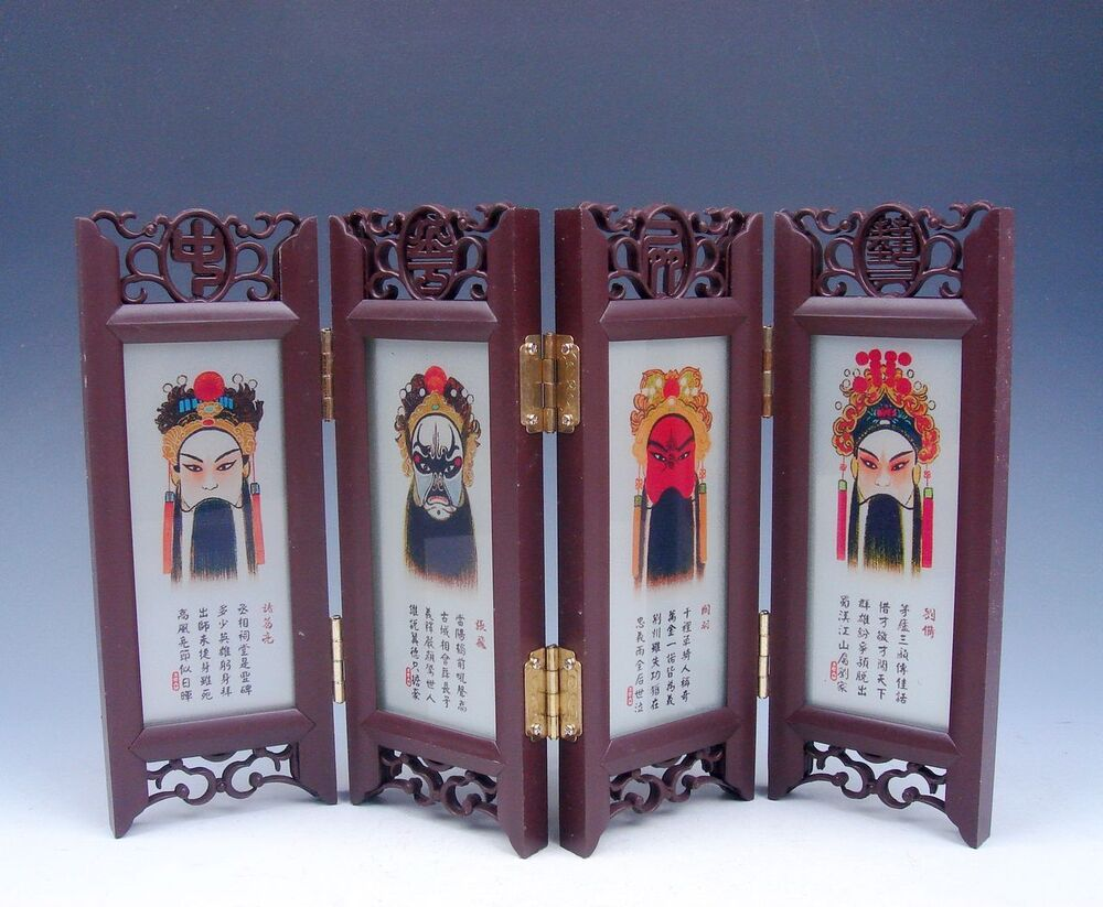 Home Decor Chinese Desktop Screen Opera Masks/Faces Gift