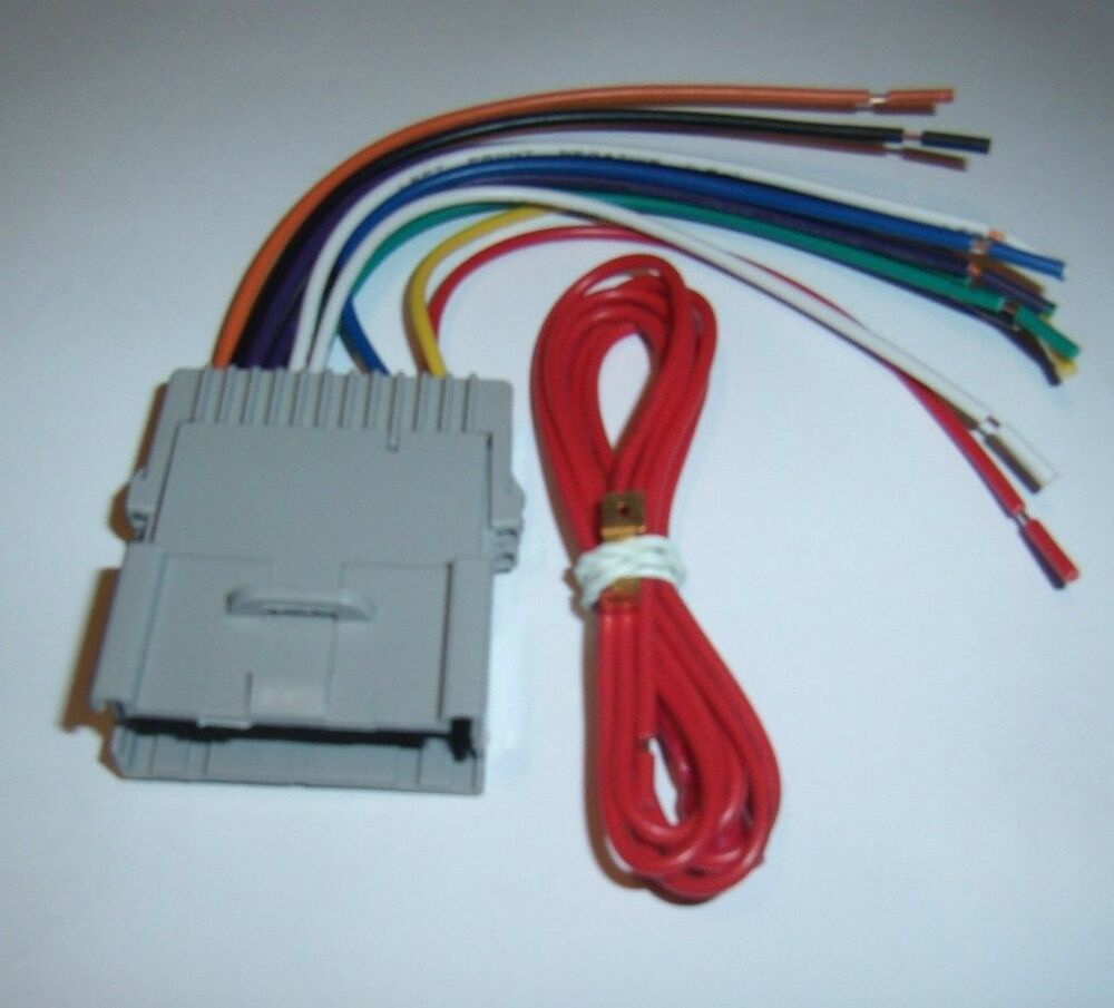 raptor gm4004 gm wire harness chevy pontiac car radio buick 98 09 metra 70 2003 ebay