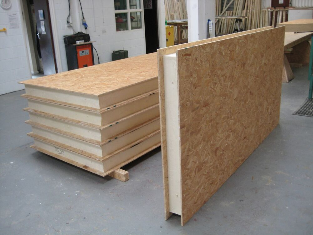 2 Insulation Panels : Structural insulated panels sips self build for garden
