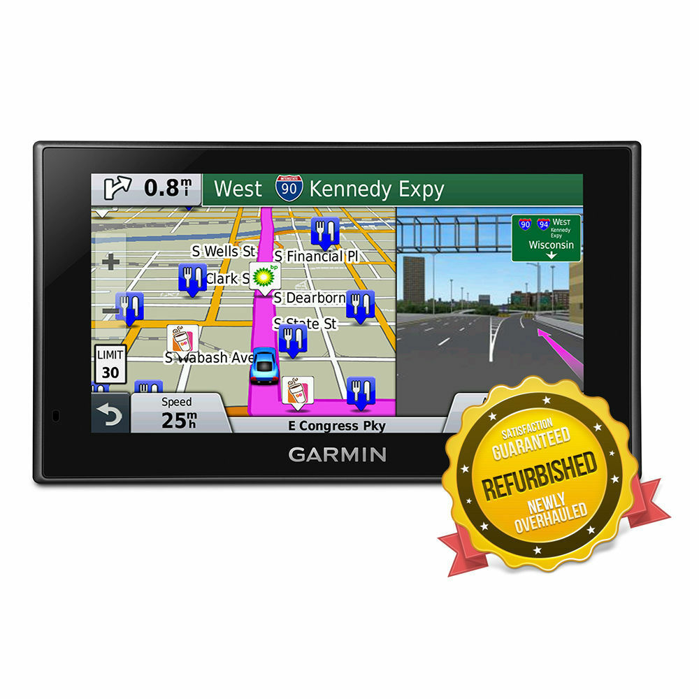 garmin nuvi 2689lmt advanced series glass display 6 gps. Black Bedroom Furniture Sets. Home Design Ideas
