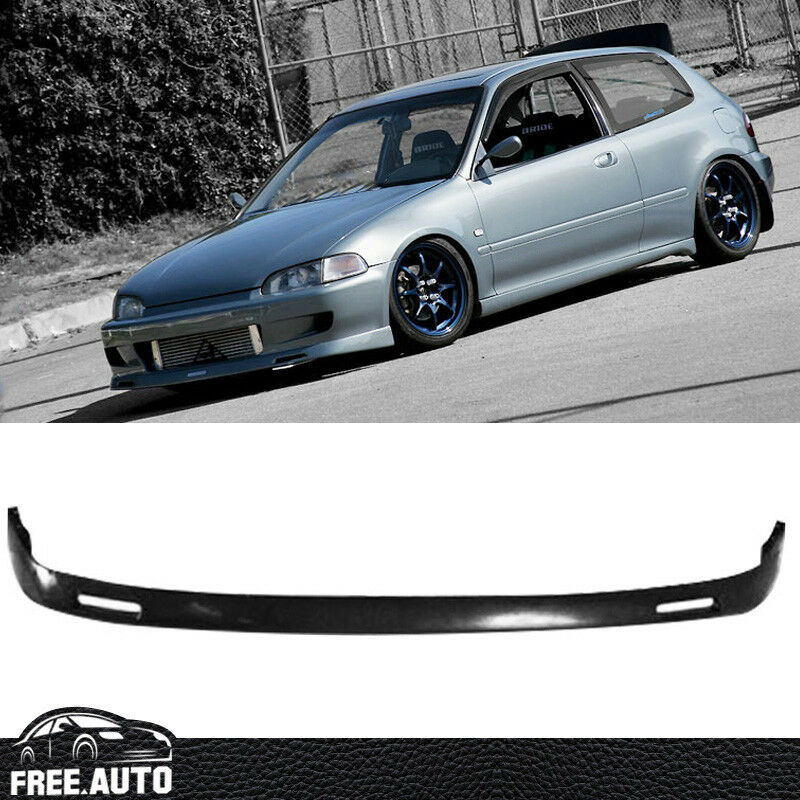 For Honda Civic 1992-1995 BYS Style Front Bumper Lip