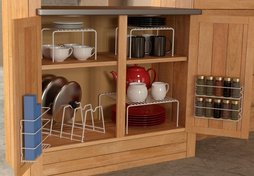 kitchen cabinet racks and storage organizers 6 kitchen cabinet pantry shelf organizer door 19374