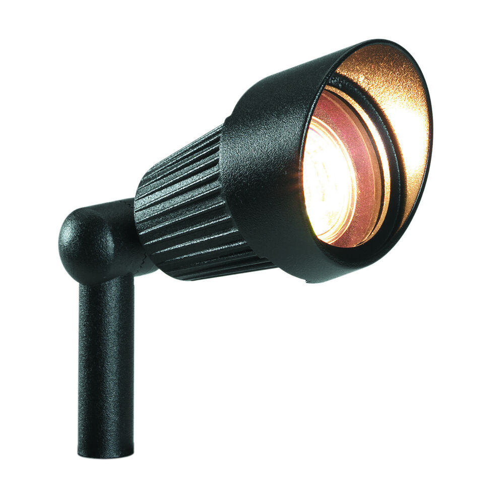 garden lights 12 volt focus black led 3 w warm white ebay. Black Bedroom Furniture Sets. Home Design Ideas