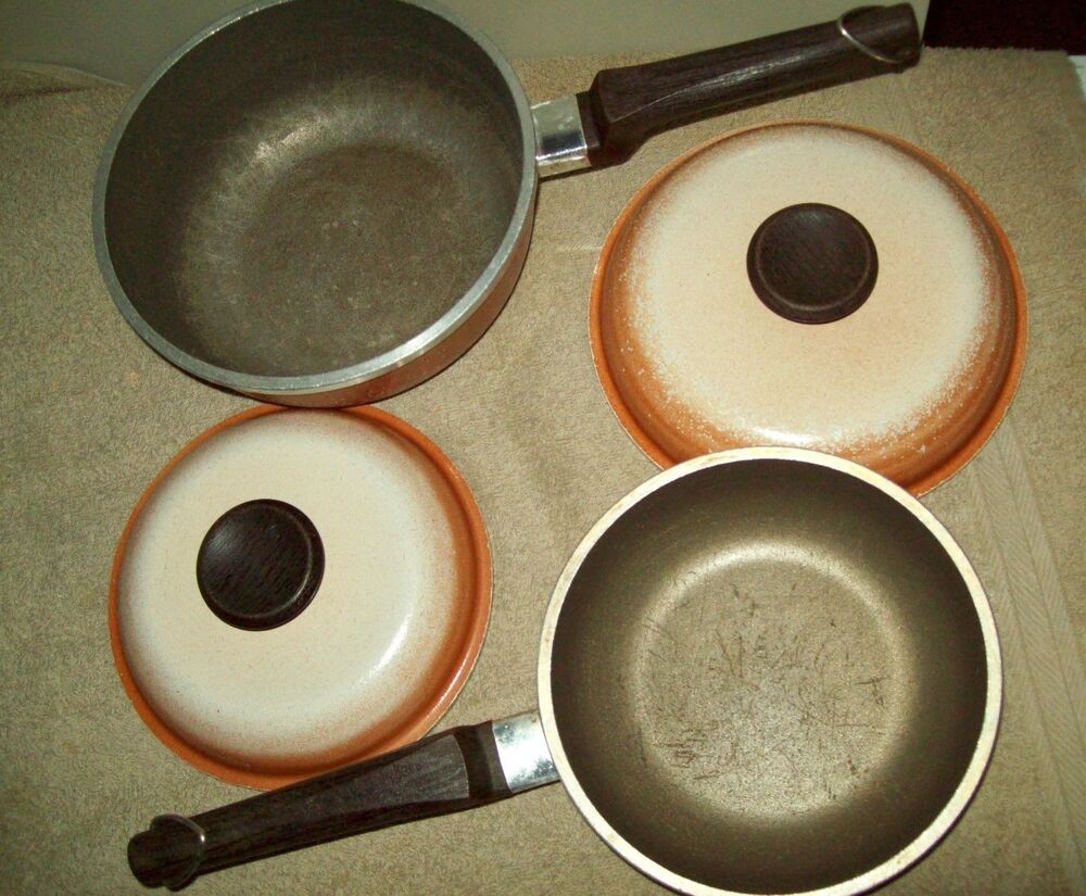 Regal Ware Vintage Usa Sauce Pan 7 50 Quot Fry Pan 6 50 Quot Lot