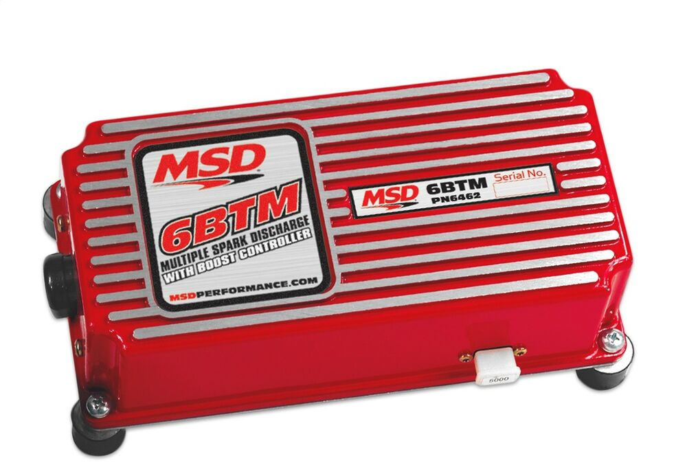 Msd Ignition 6462 6btm Boost Timing Master Ignition Box