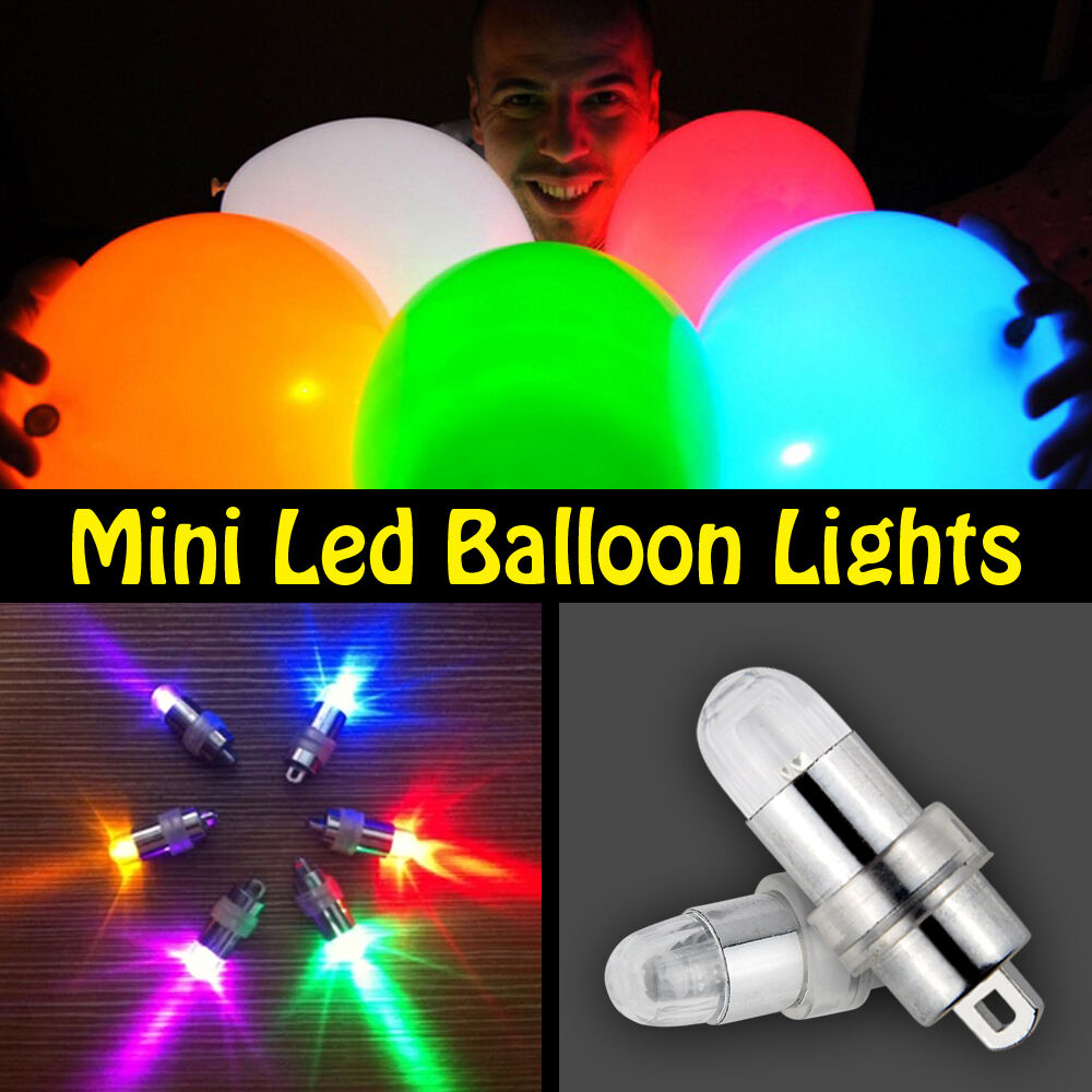 LED Mini Balloon Lamps Bulbs String lights For Lantern Decor Batteries Operated eBay