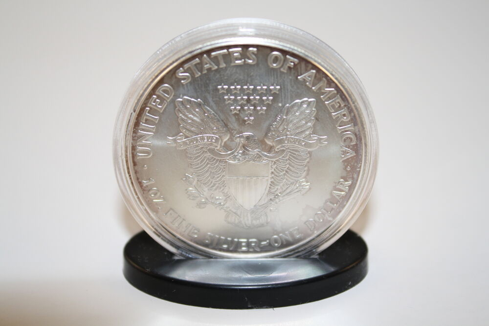 Coin Display Stands For Silver Eagle Morgan Peace Ike Dollar Capsules Qty 25 Ebay