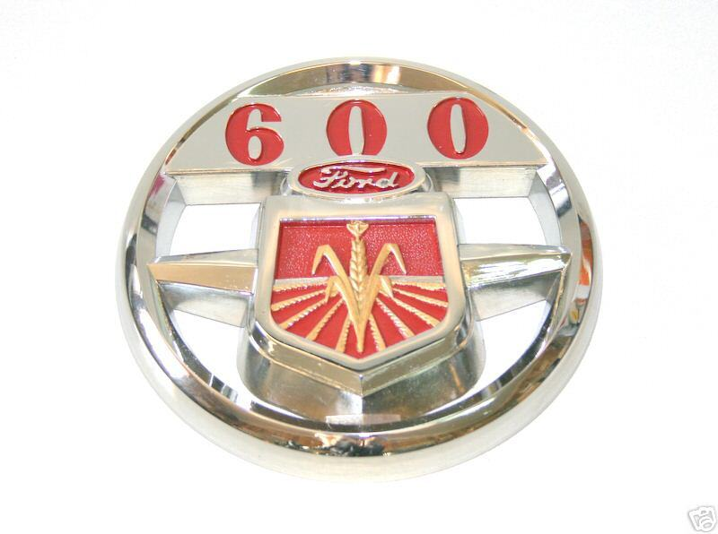 Ford 600 Tractor Hood : Ford series tractor front hood emblem nca a new ebay