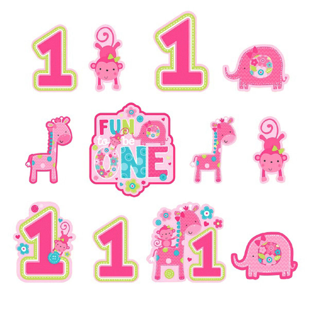 12 wild fun to be one pink girl 39 s 1st birthday party for 1st birthday girl decoration