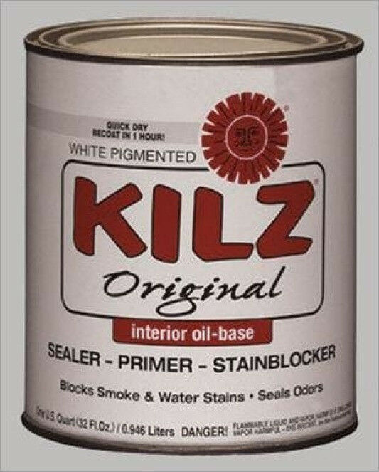 kitchen cabinet primer new masterchem 10002 kilz quart original based sealer 19330