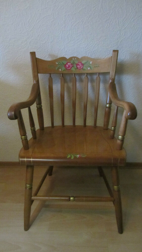 Horning S Chair USA Holz Einzel Stuhl Landhaus Country