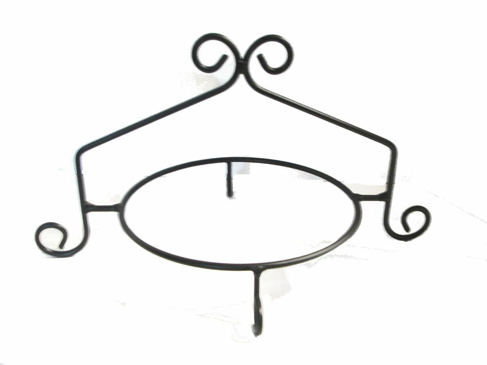 Black Wrought Iron Cake Stands