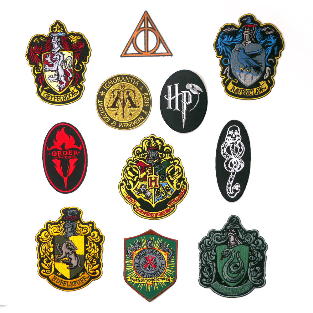 HARRY POTTER Movie Book Patch Series