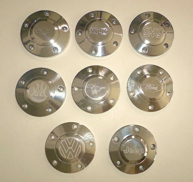 71 Chevy Truck Parts Horn Button Upgrade CHEVY FORD VW MUSTANG JEEP SS GMC ...