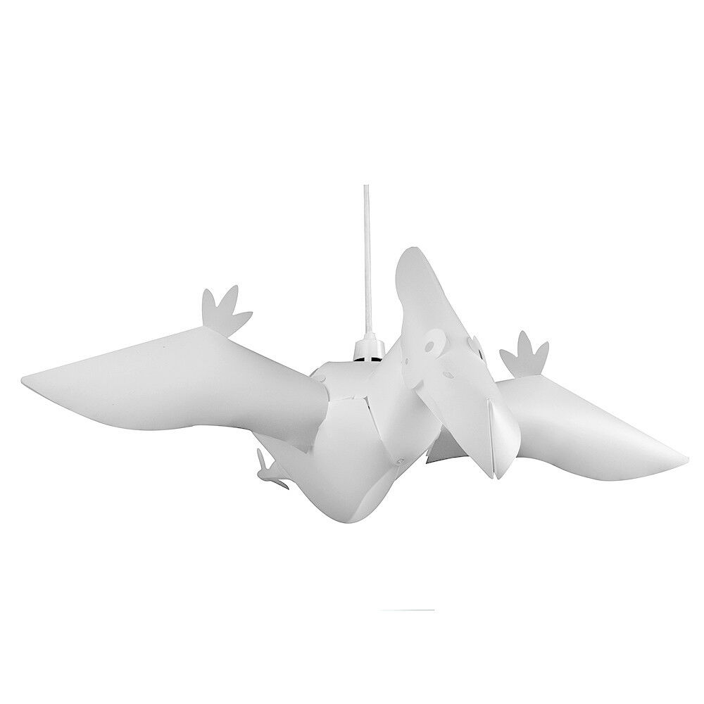 3d pterodactyl dinosaur childrens bedroom ceiling light