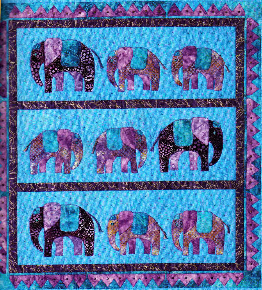 Quilting Patterns Stitching : Blanket Stitch Quilts Stunning Stitch Stitch Applique Project Quilt Pattern Book eBay