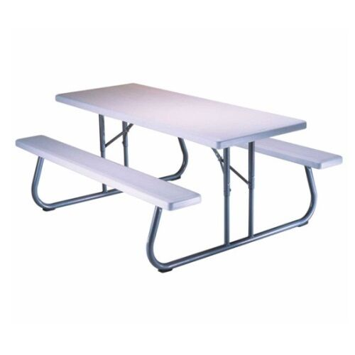 Lifetime picnic tables 80215 folding picnic table 6 ft for Table 6 feet