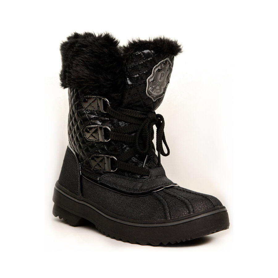 "Pastry ""Cutie Pie"" Black Womens's Winter Snow Boots *SALE ..."