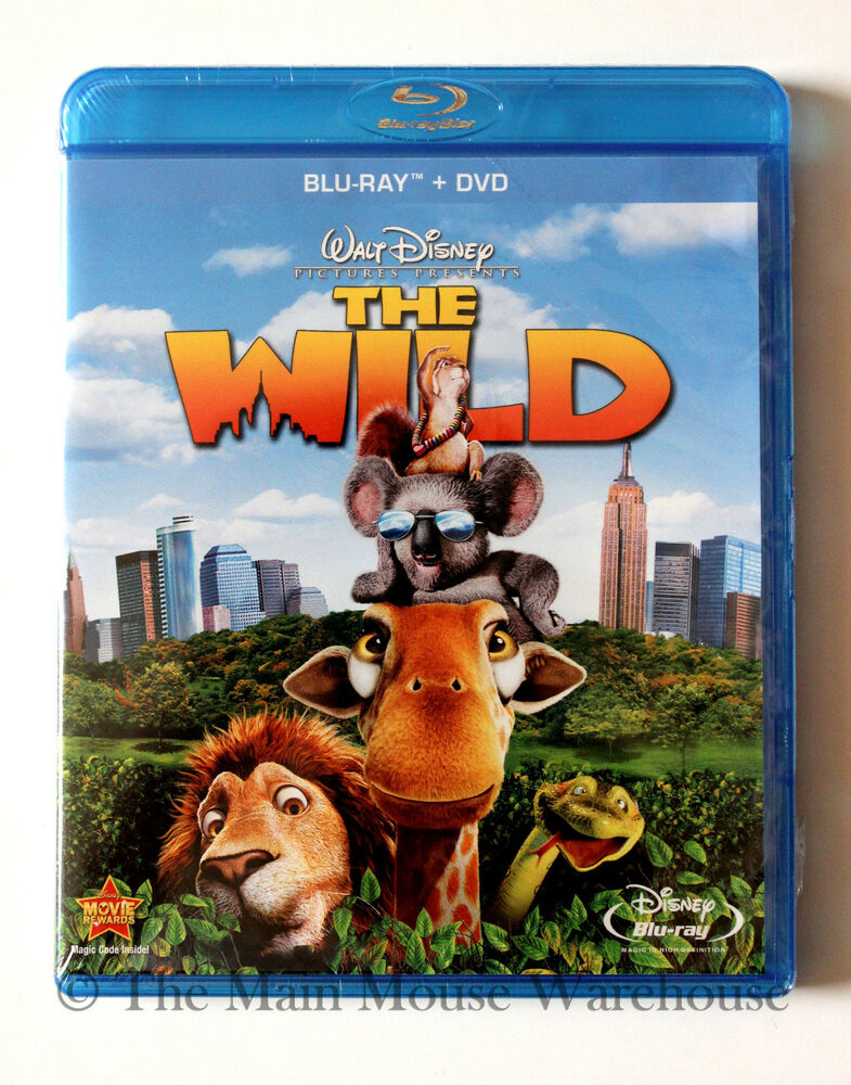 disney the wild zoo new york blu ray dvd combo pack english french and spanish 786936811384 ebay. Black Bedroom Furniture Sets. Home Design Ideas