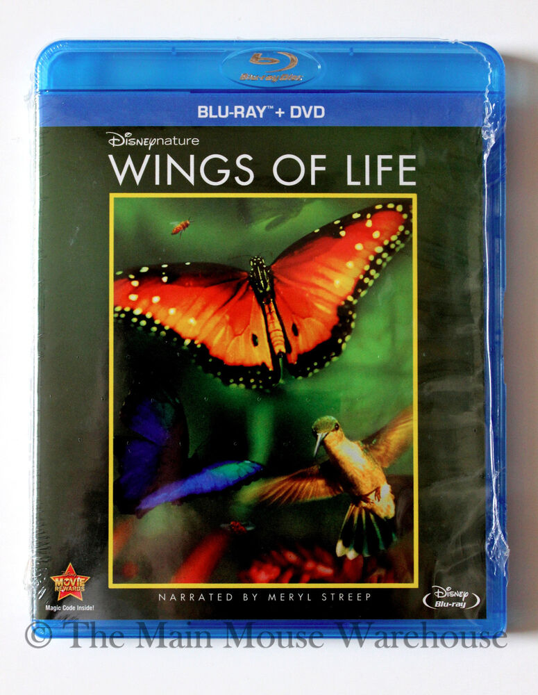 Disney Nature Wings Of Life Butterfly Hummingbird Bees