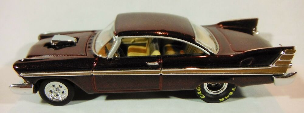hot wheels classic 1957 or 1958 maroon plymouth fury. Black Bedroom Furniture Sets. Home Design Ideas