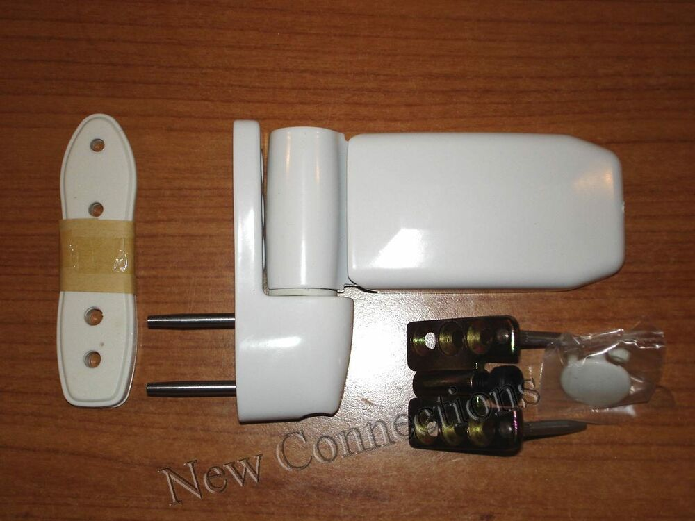 White 39 nexus 2 39 adjustable flag hinge for upvc doors dhi02 ebay for Adjustable hinges for exterior doors