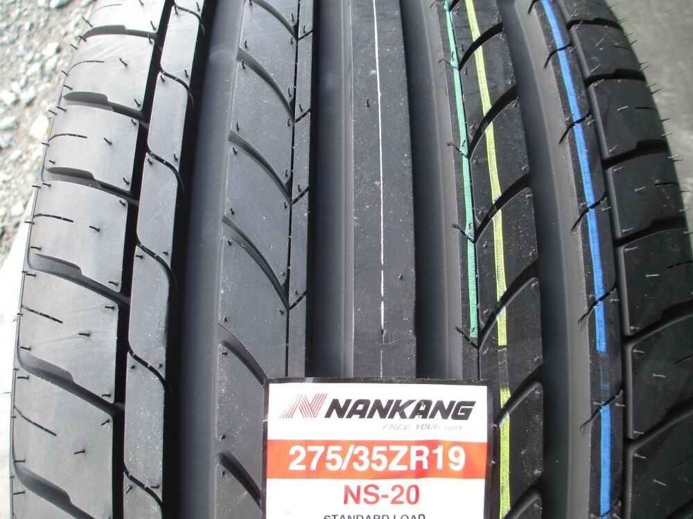 2 new 275 35zr19 inch nankang ns20 tires 275 35 19 r19 2753519 35r ebay. Black Bedroom Furniture Sets. Home Design Ideas