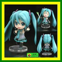 "【HOT】ANIME VOCALOID Nendoroid 33# Hatsune Miku 4"" Figure Face Changable Gift TOY"