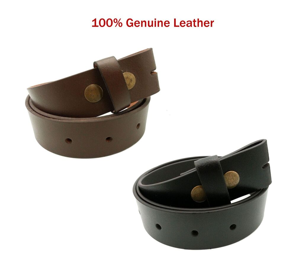 mens real leather snap on high quality