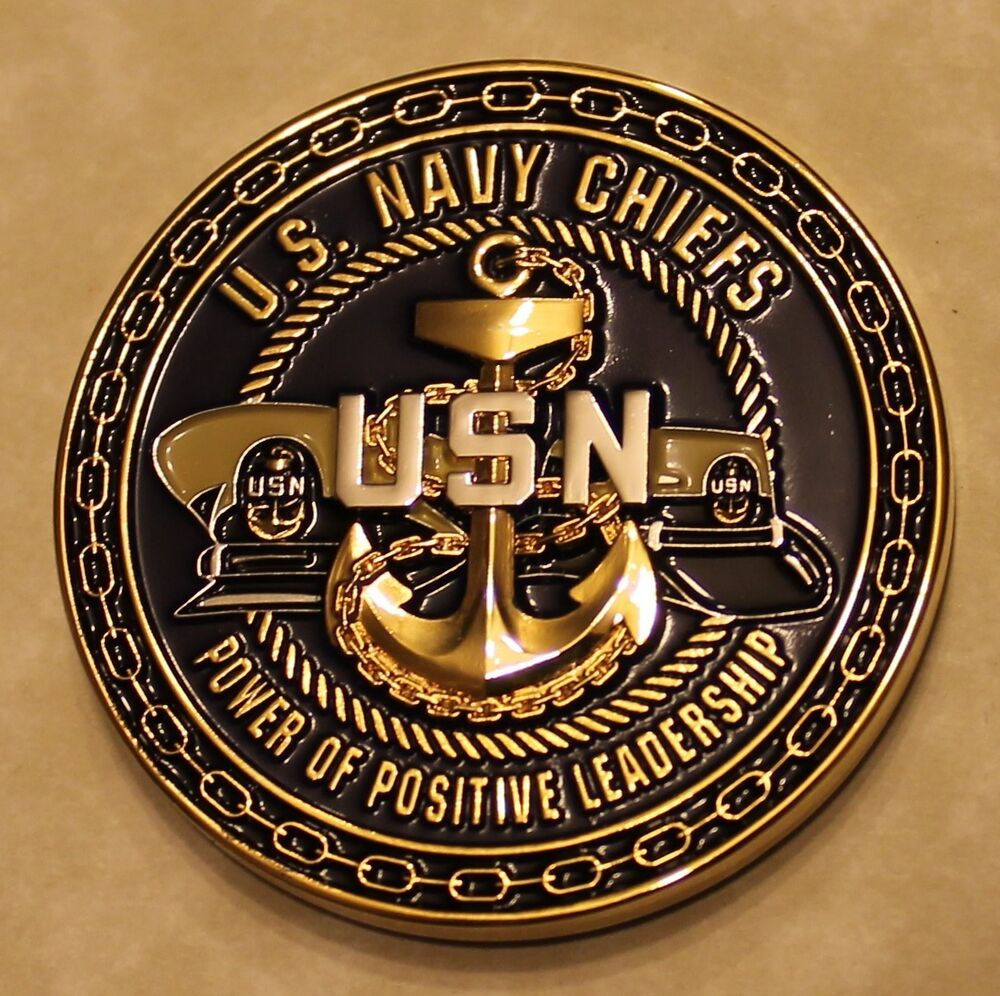 Us Navy Chiefs Power Of Positive Leadership Compass Navy