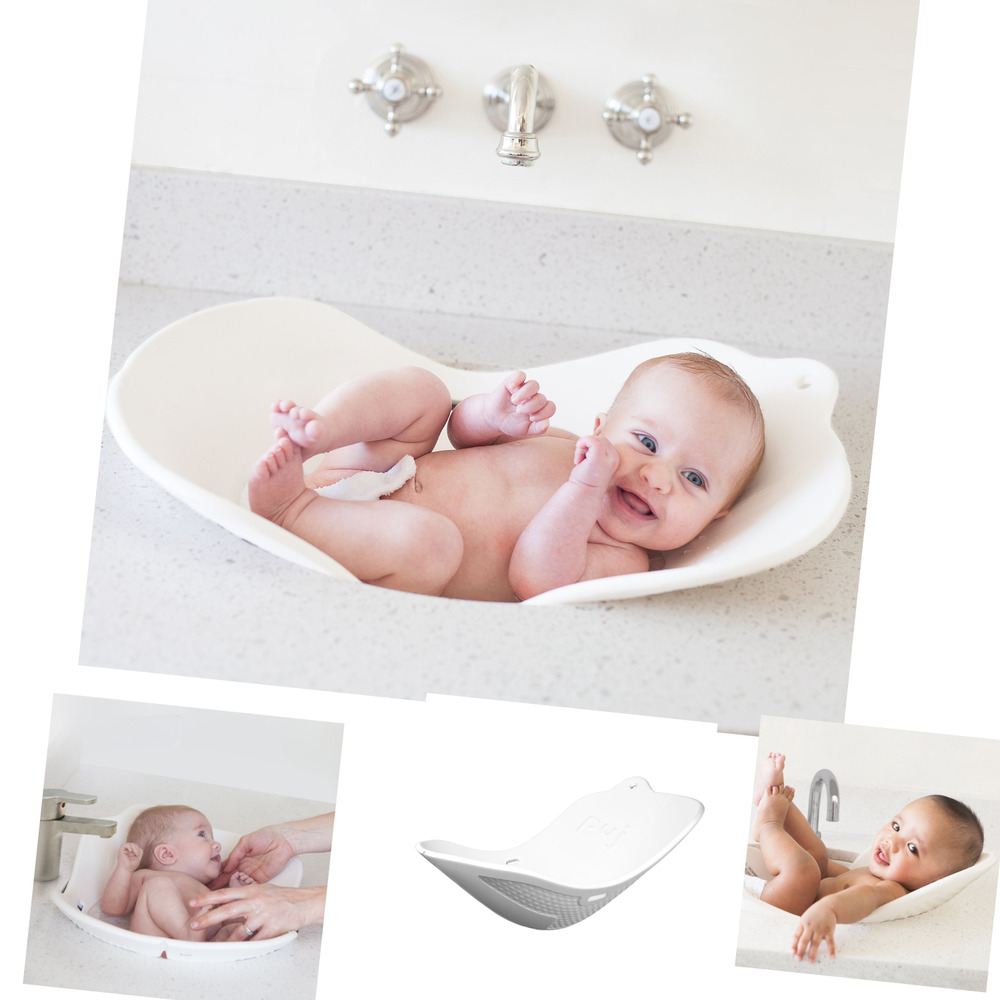 Puj Flyte Compact Infant Bath White Ebay