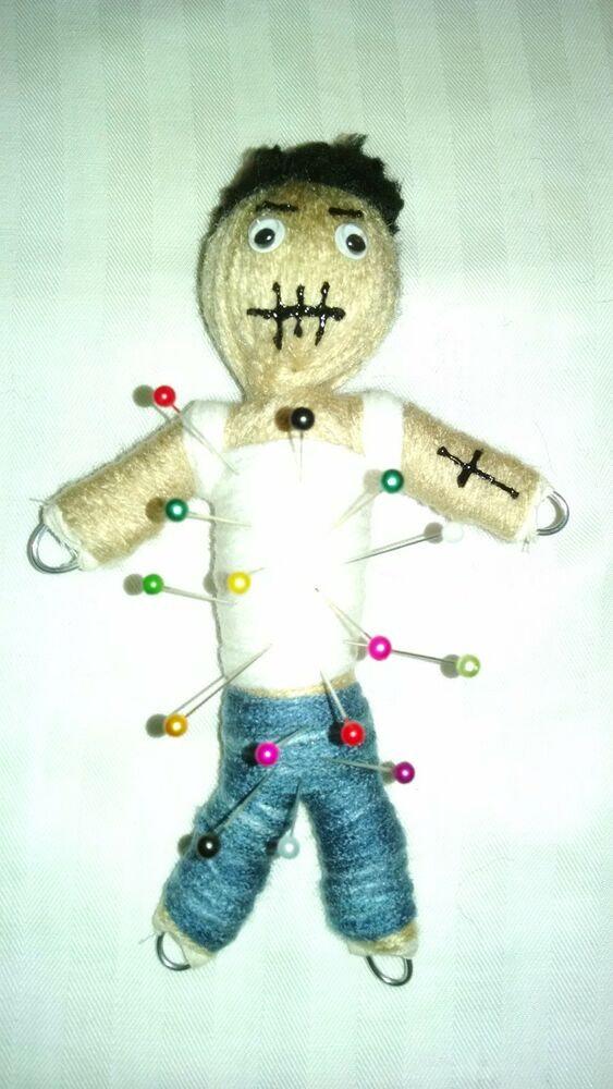Authentic Ex Boyfriend Voodoo Doll real 7 pins guide new ...