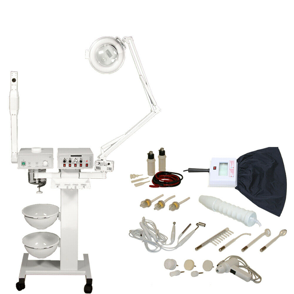 9 in 1 facial machine aromatherapy steamer skin care spa