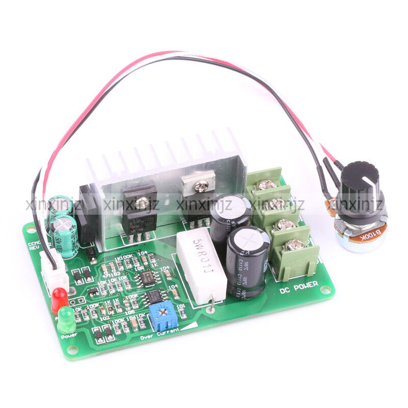Dc motor speed control pwm adjustable current limit 15a for Dc motor current limiter