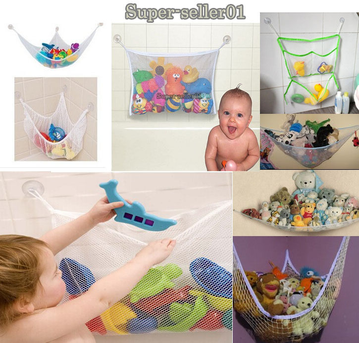1pcs new hanging toy hammock net to organize stuffed for Hanging toy net
