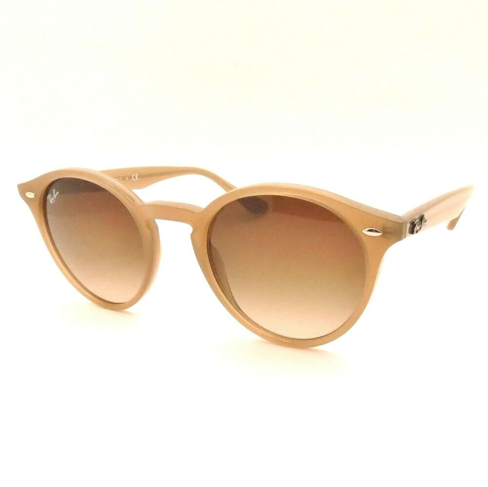 87967f25b4 Details about Ray Ban RB 2180 6166 13 49 Turtledove Brown Gradient Sunglasses  New Authentic