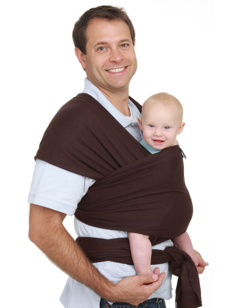 Authentic Moby Wrap Infant Baby Carrier Sling Original