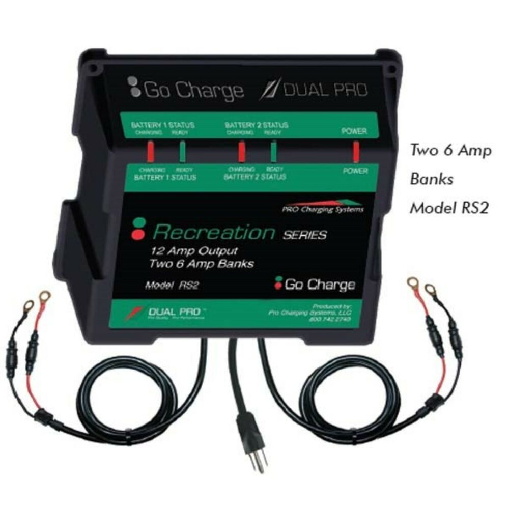 Dual Pro Chargers Rs3 Recreational Series Battery Charger