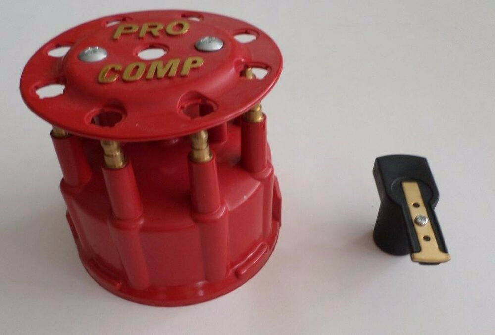 Red Ready To Run Pro Billet Replacement Distributor Cap