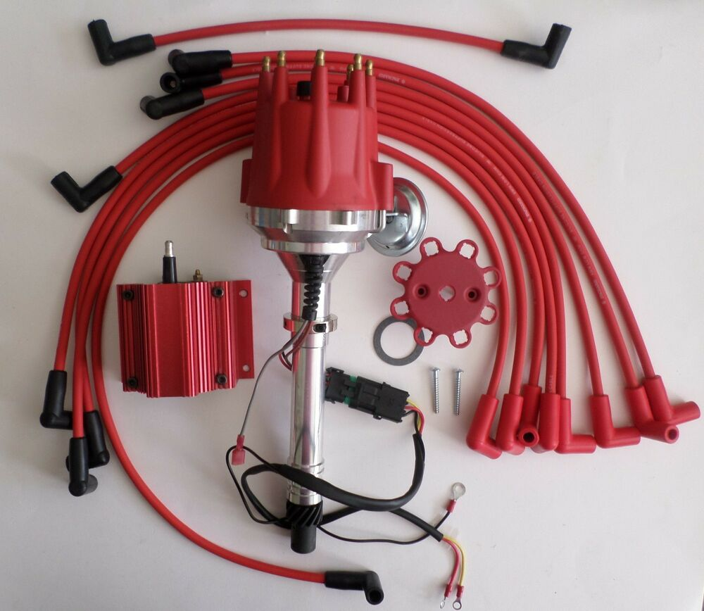 1977 Chevy Small Block Motor Wiring: SMALL BLOCK CHEVY 350 Pro Series HEI Distributor,Coil
