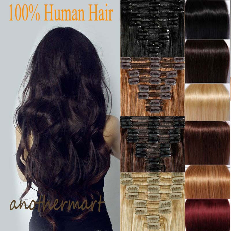 Best Clip In Remy Human Hair Extensions 43