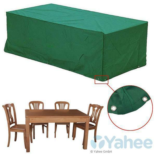 abdeckhaube regenschutz abdeckung gartenm bel wetterschutz gartengarnitur h lle ebay. Black Bedroom Furniture Sets. Home Design Ideas