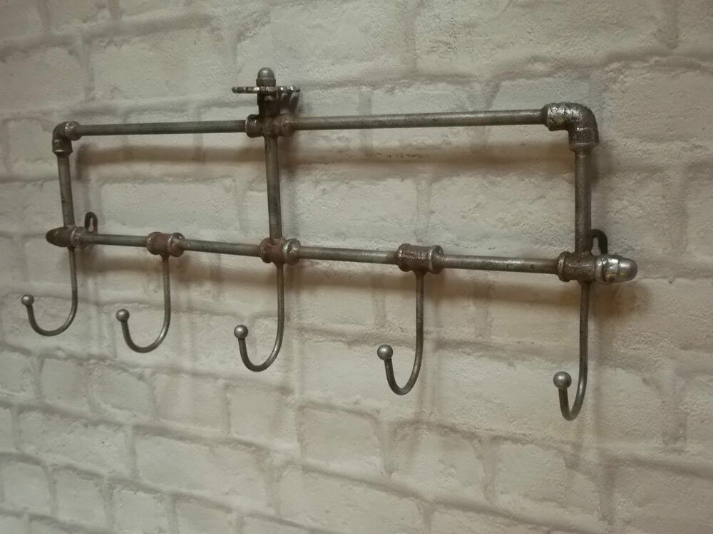 coat hooks wall mounted vintage industrial style wall mounted coat hooks rack pegs 31142